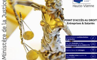 Une permanence d'Accès au Droit dédiée aux Entreprises et aux Salariés