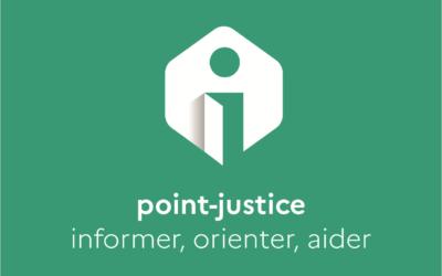 Le nouveau label Point-Justice.